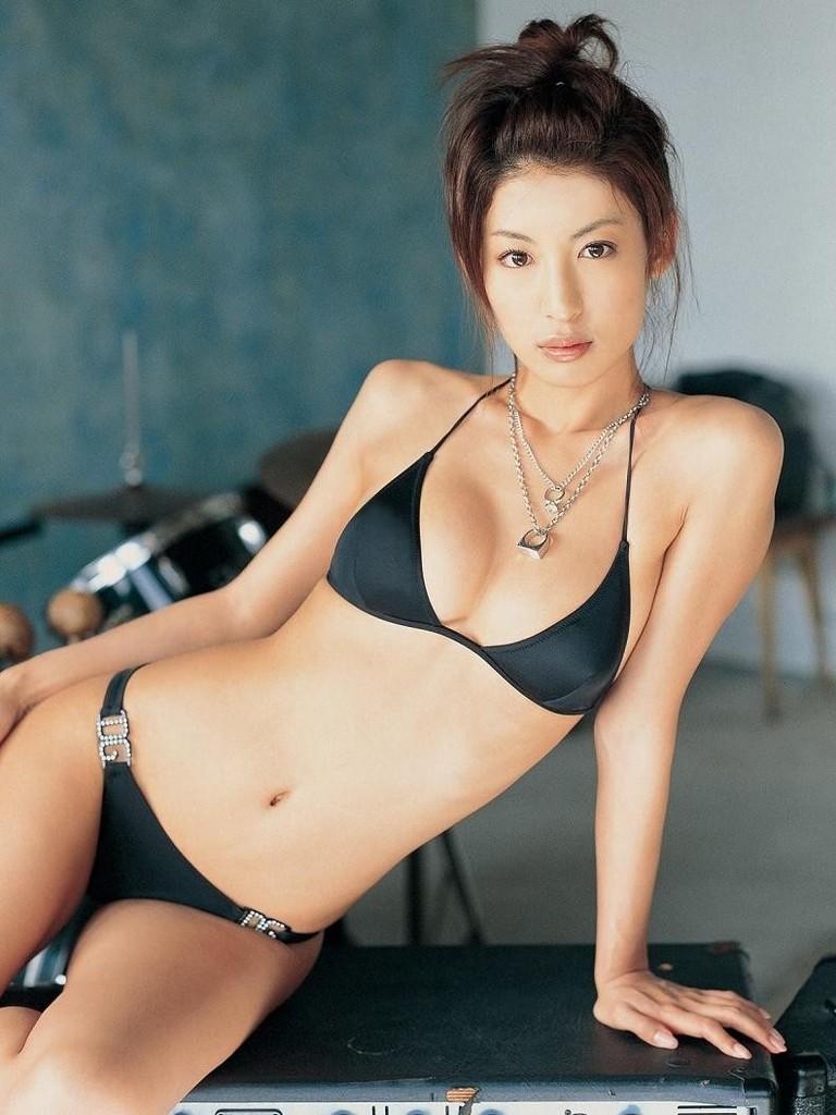 多岐川華子さんの水着
